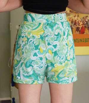Vintage style shorts