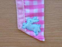 Pretty Kitty apron bunny detail